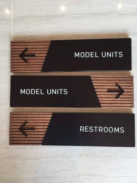 directional signs-mandani bay |directional signs | wayfinding signage