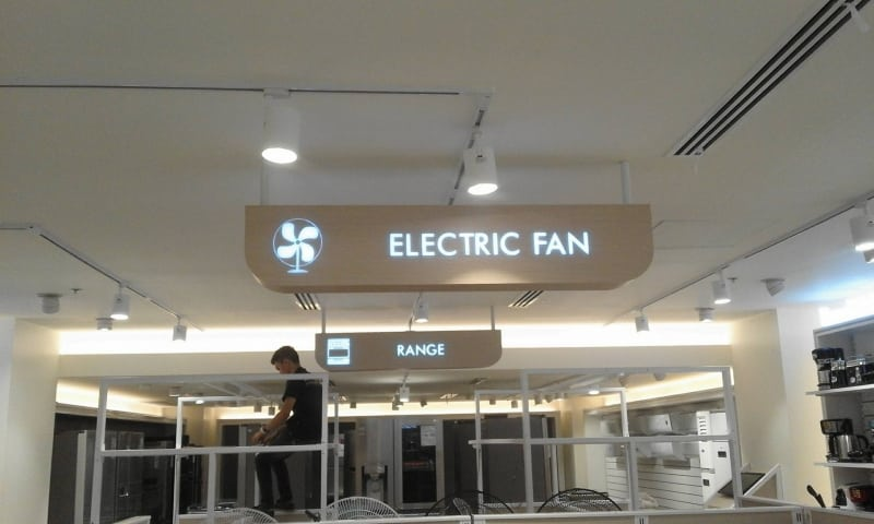 electric fan directional