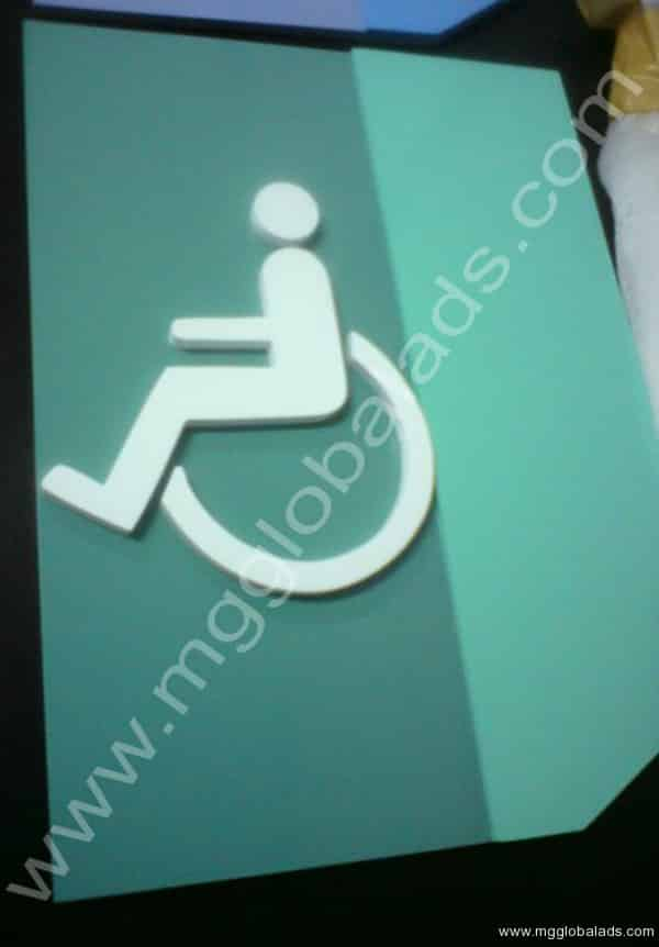 comfort room signs|photo luminescent sign |directional signs