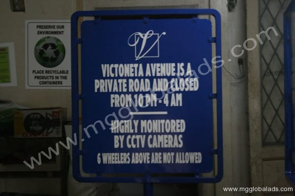 traffic sign |photo luminescent sign |directional signs