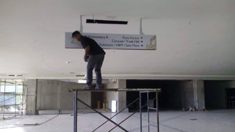 installing directional signage | Directional Signage | Wayfinding Signage