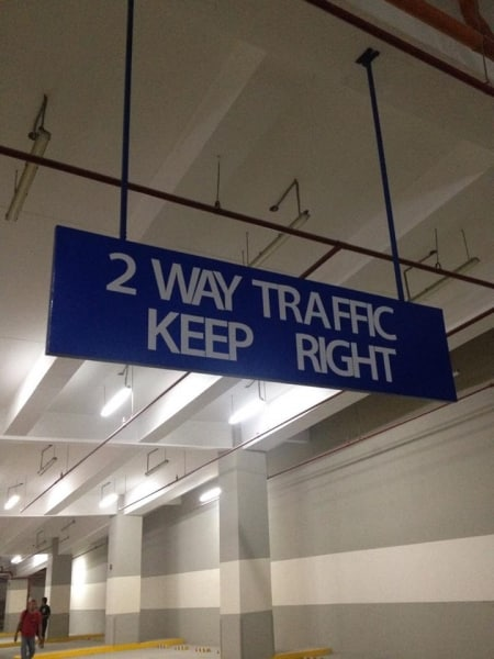 parking signage |directional signs | wayfinding signage