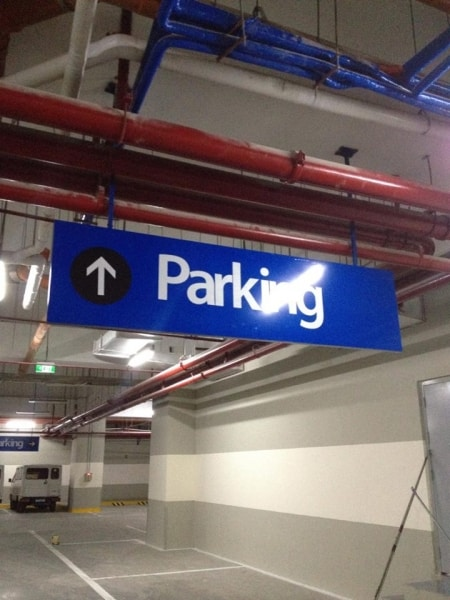 parking signs |directional signs | wayfinding signage