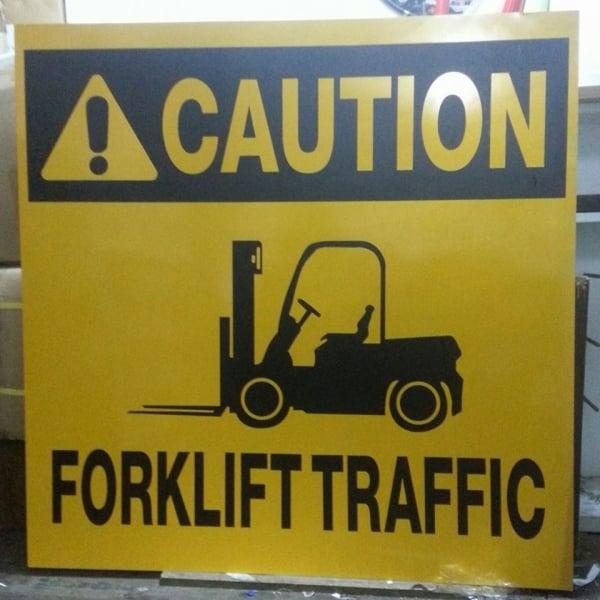 caution signs | photoluminescent sign