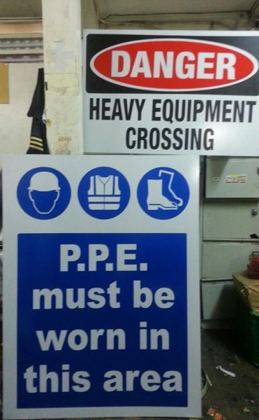 safety signs | photoluminescent sign