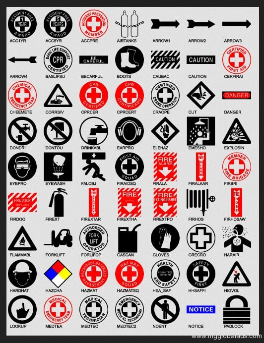 safety signs|photo luminescent sign |directional signs