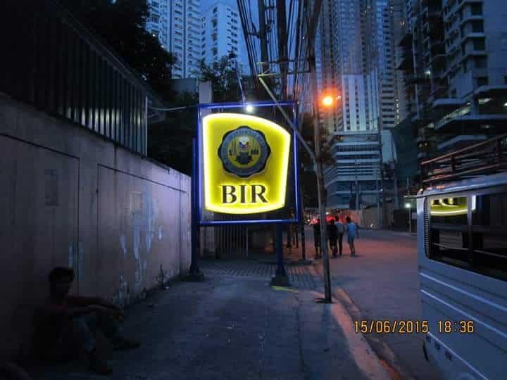 BIR pylon post| Acrylic Signage |signage company