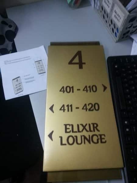 hotel signage sample| Acrylic Signage |signage company
