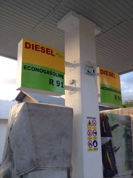 gas station signage 3 |signage maker