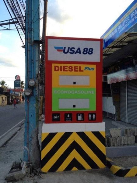 gas station signage |signage maker