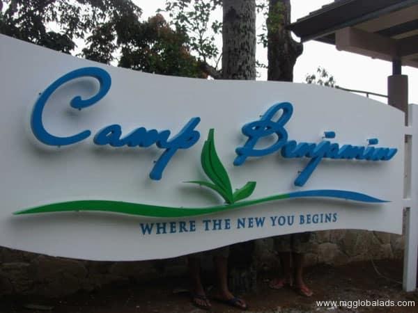 Sign Maker | Acrylic Signage | CAMP BENJAMIN