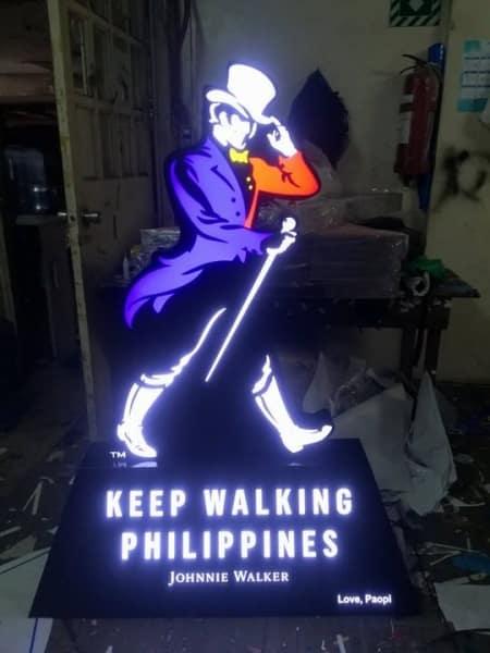 johnny walker signage