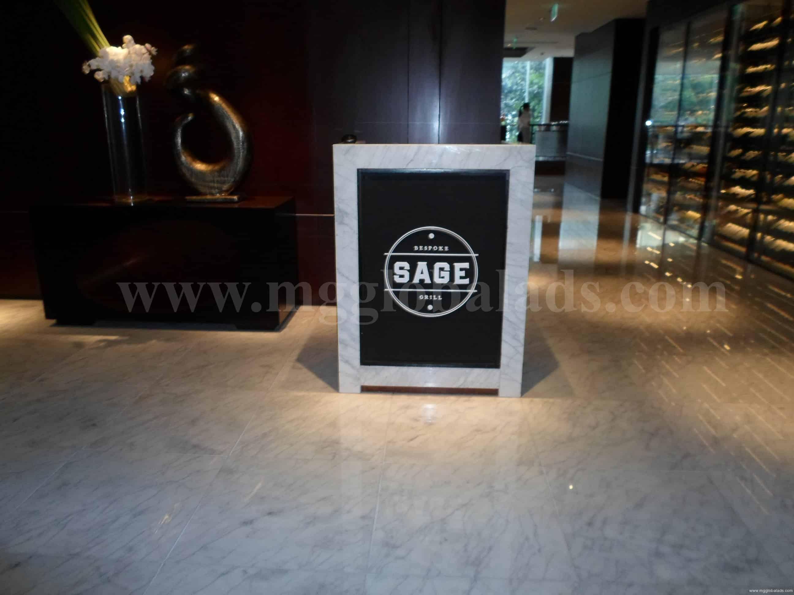 sage_sign| Acrylic Signage |signage companies