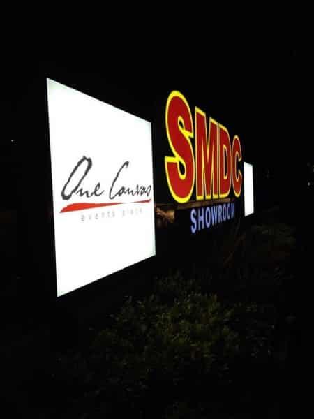 smdc acrylic signage |signage maker