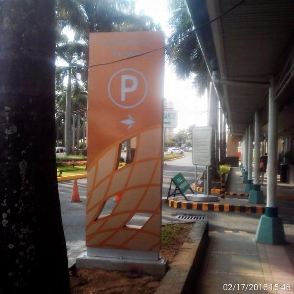 festival parking totem signage | Signage company | Wayfinding Signage