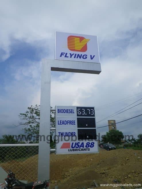 Pylon Post | Signage |Flying V