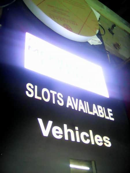 totem-parking signage-signage company