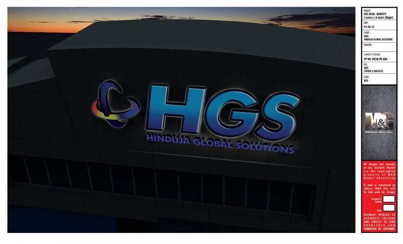 HGS building signage |signage design