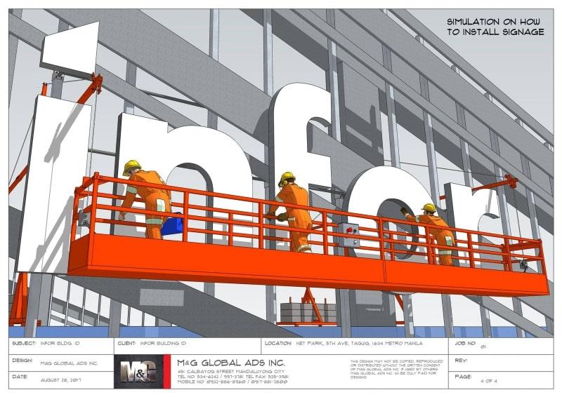 building signage design