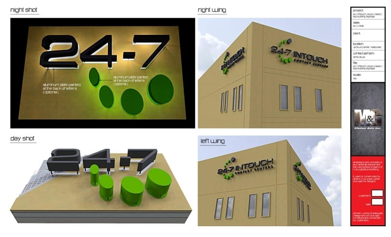 call center |building signage 5
