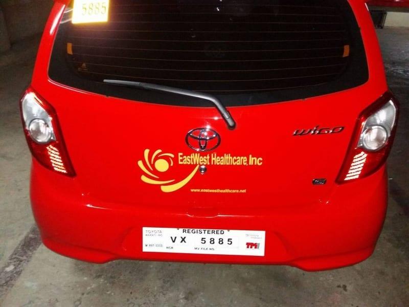 car decal car sticker signs