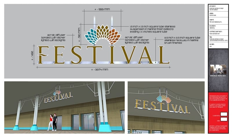 festival |signage design 2