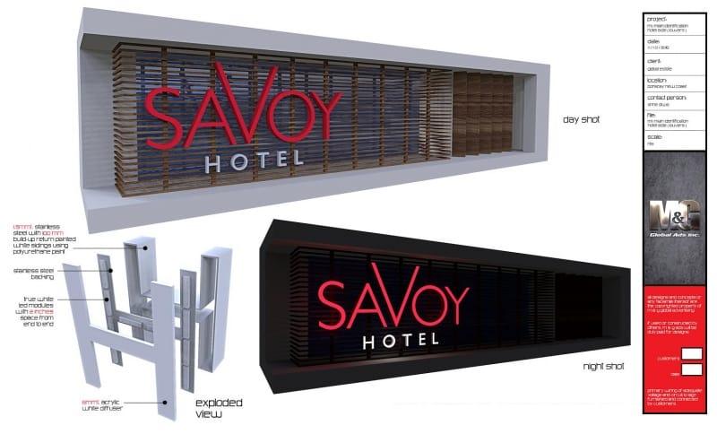 savoy |building signs 6