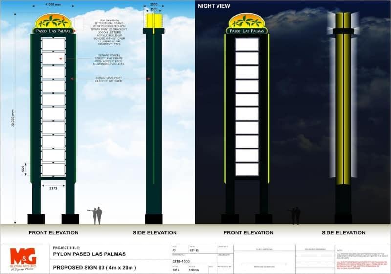 pylon post 2 |signage design