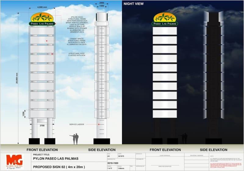 pylon post |signage design