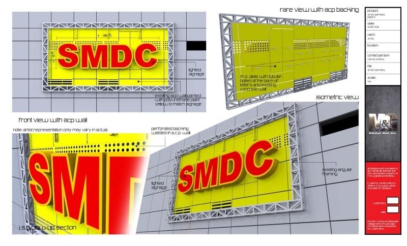 smdc |signage deisign 2