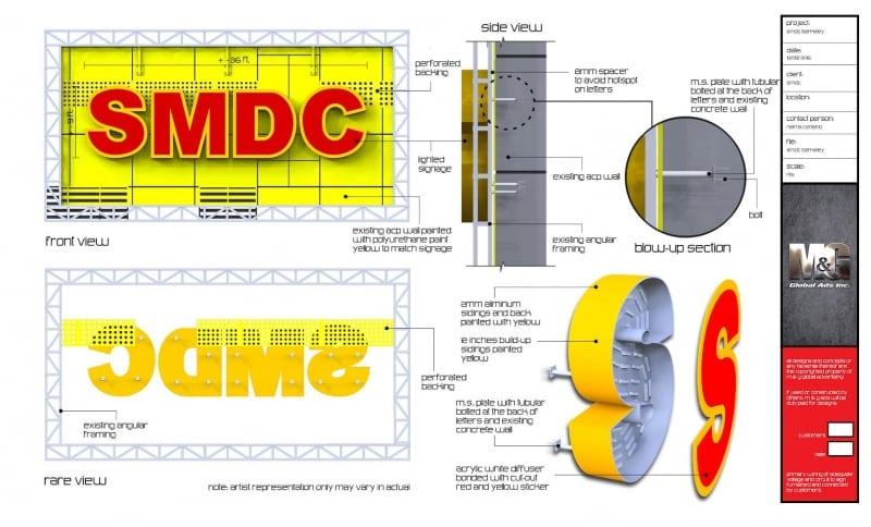 smdc |signage deisign