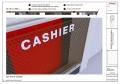 cashier acrylic signage 2 |signage design