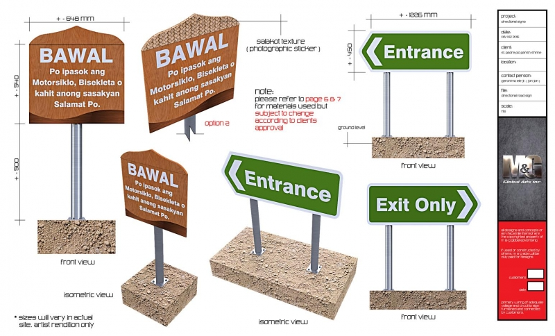 traffic signage |signage design 4