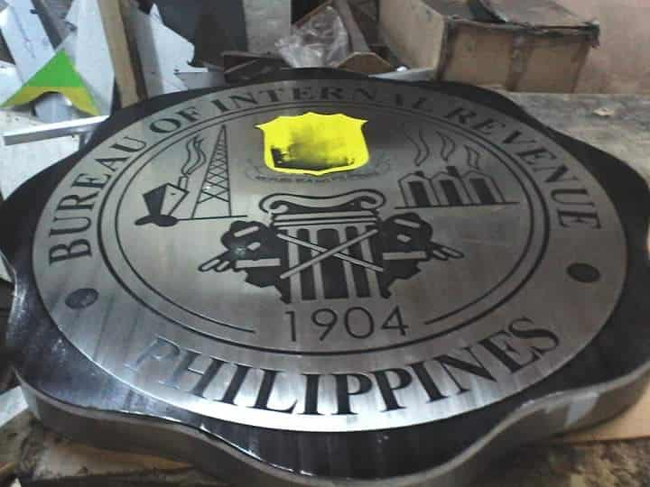 stainless engraving for BIR | engraving