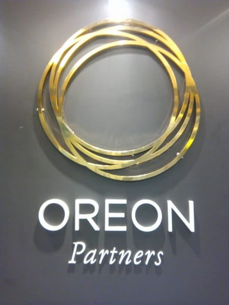 oreon brass sign | engraving