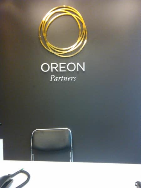 oreon brass signage | engraving