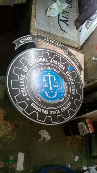 stainless engraving | School signage