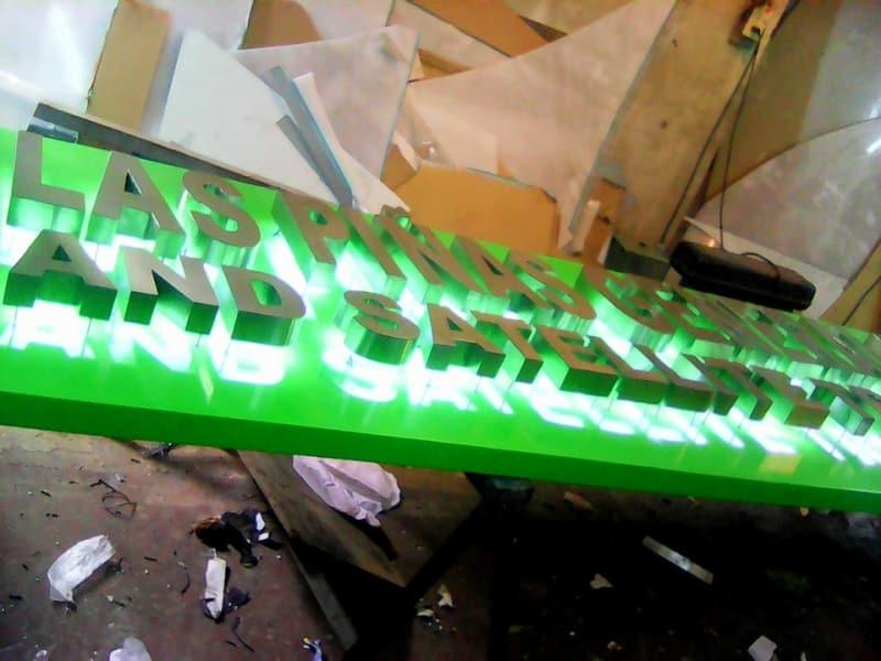 hospital signage-stainless signage-sign maker