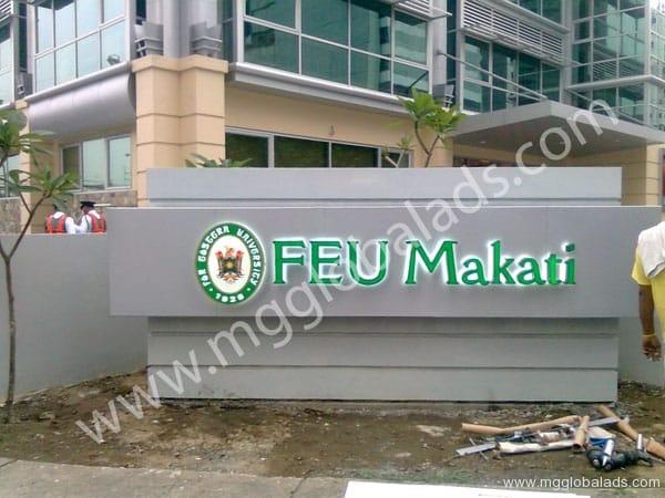 Sign Maker | Signage | FEU MAKATI