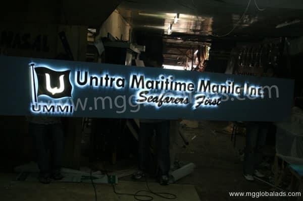 Sign Maker | Signage | UNITRA MARITIME MANILA INC.