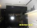 brass signage |brass engraving |nine west
