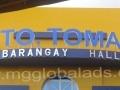 Sign Maker | Signage | STO TOMAS BARANGAY HALL