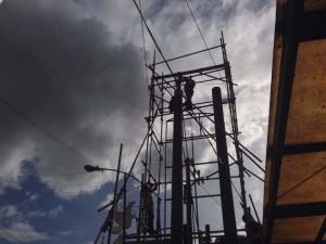 pylon post