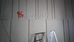 mandani bay acrylic signage 4
