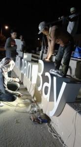 mandani bay stainless signage 4
