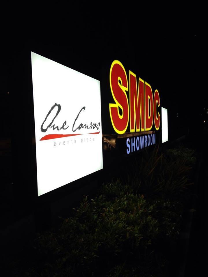 smdc acrylic signage