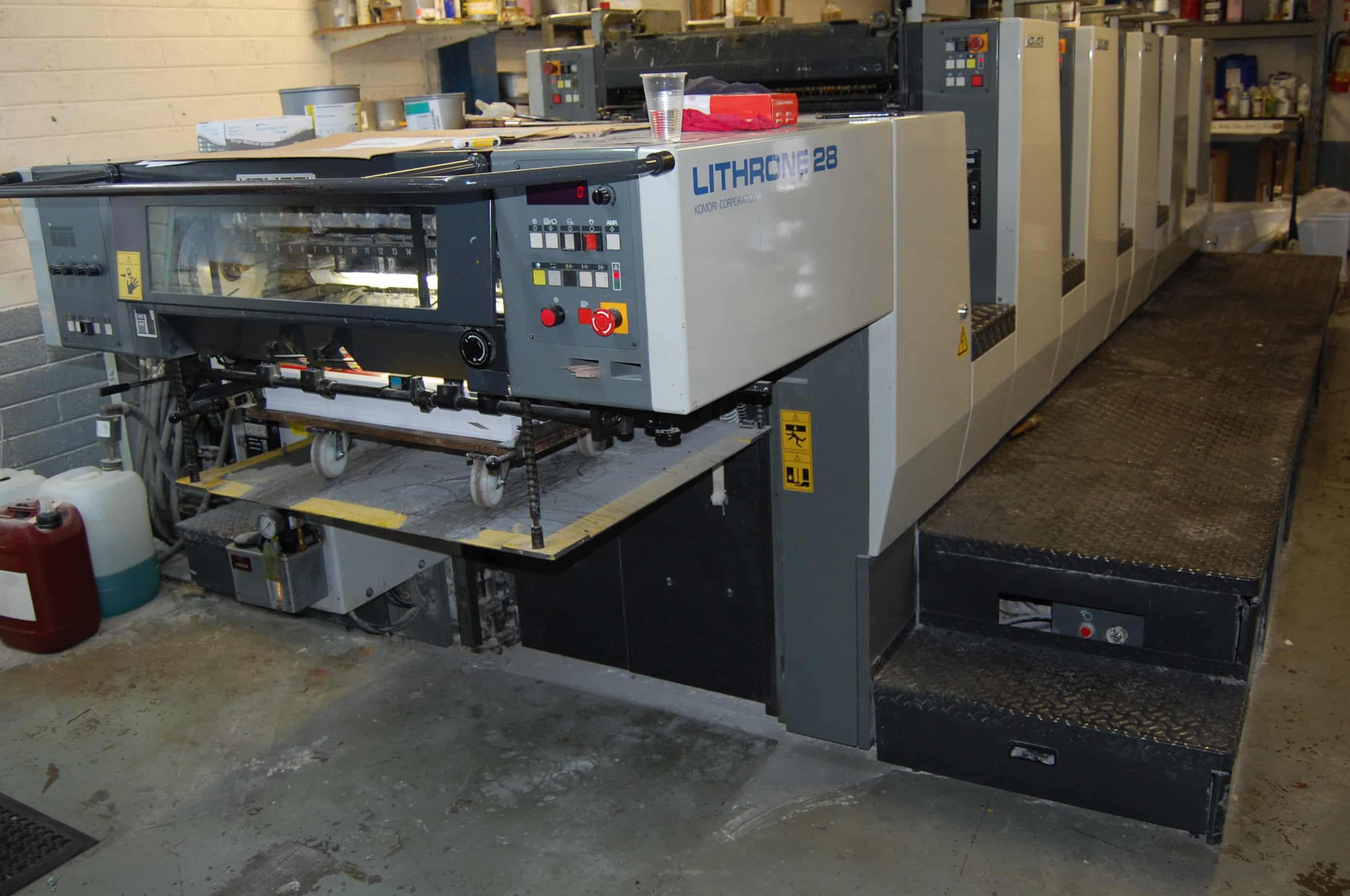 large format digital printing machine operator