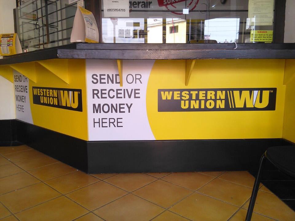 Western Union Panaflex Signage Maker Sign Maker